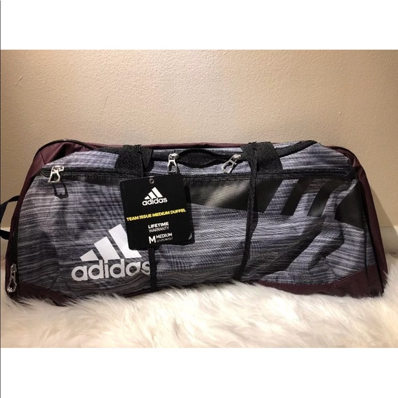 83bc942711 BRAND NEW WITH TAG ADIDAS TEAM ISSUE MEDIUM DUFFEL